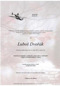 Nejbližší rozloučení - Luboš Dvořák