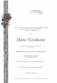 Nejbližší rozloučení - Hana Nováková