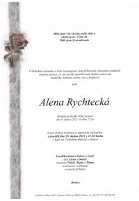 Nejbližší rozloučení - Alena Rychtecká