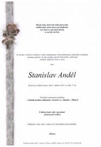 Nejbližší rozloučení - Stanislav Anděl