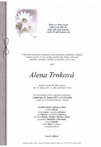 Nejbližší rozloučení - Alena Trnková