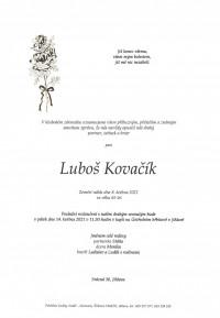Nejbližší rozloučení - Luboš Kovačík