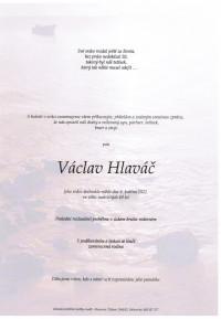Nejbližší rozloučení - Václav Hlaváč