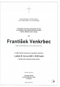 Nejbližší rozloučení - František Venkrbec