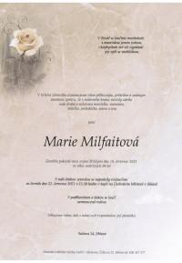 Marie Milfaitová