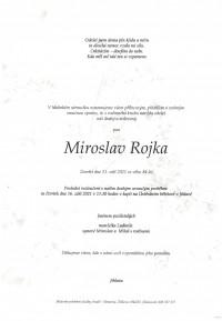 Nejbližší rozloučení - Miroslav Rojka