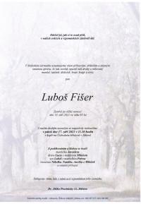 Nejbližší rozloučení - Luboš Fišer
