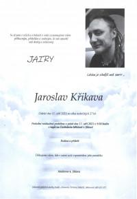 Nejbližší rozloučení - Jaroslav Křikava