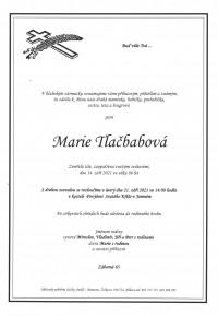 Marie Tlačbabová