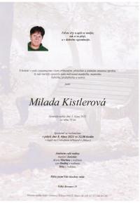 Milada Kistlerová