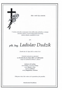 plk. Ing. Ladislav Dudzík