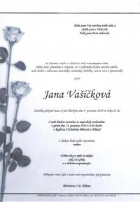 Nejbližší rozloučení - Jana Vašíčková