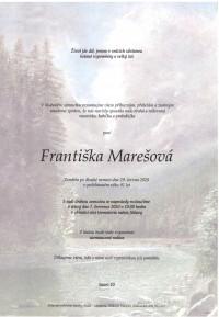 Františka Marešová