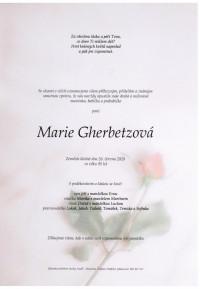 Marie Gherbetzová