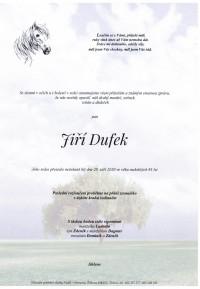 Nejbližší rozloučení - Jiří Dufek