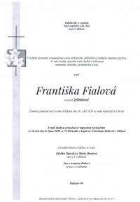 Františka Fialová