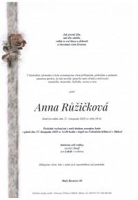 Anna Růžičková